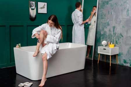 manfaat mandi pasangan