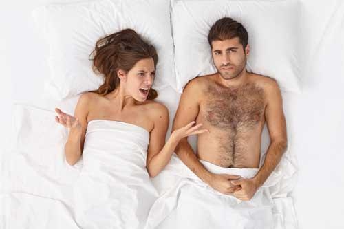 kesalahan pria di ranjang