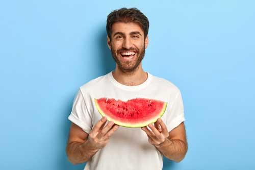semangka pria